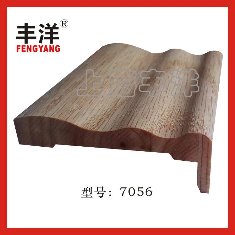 实木复合贴皮门套线-7056款木线条