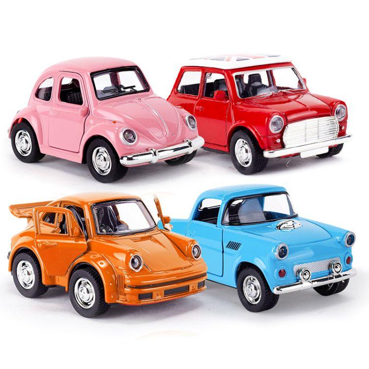 1-38合金车模型 批发价格 mini迷你合金小汽车模型批发零售