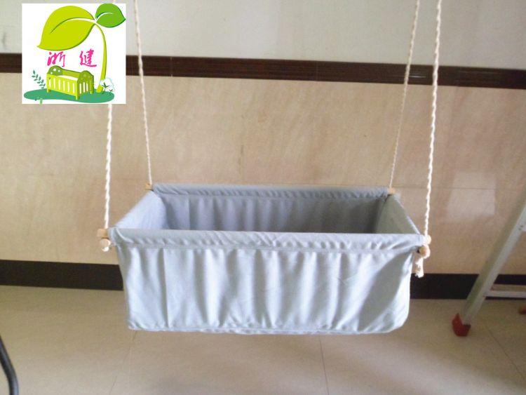 厂家批发儿童秋千吊床宝宝吊椅可定制不同款式的吊篮