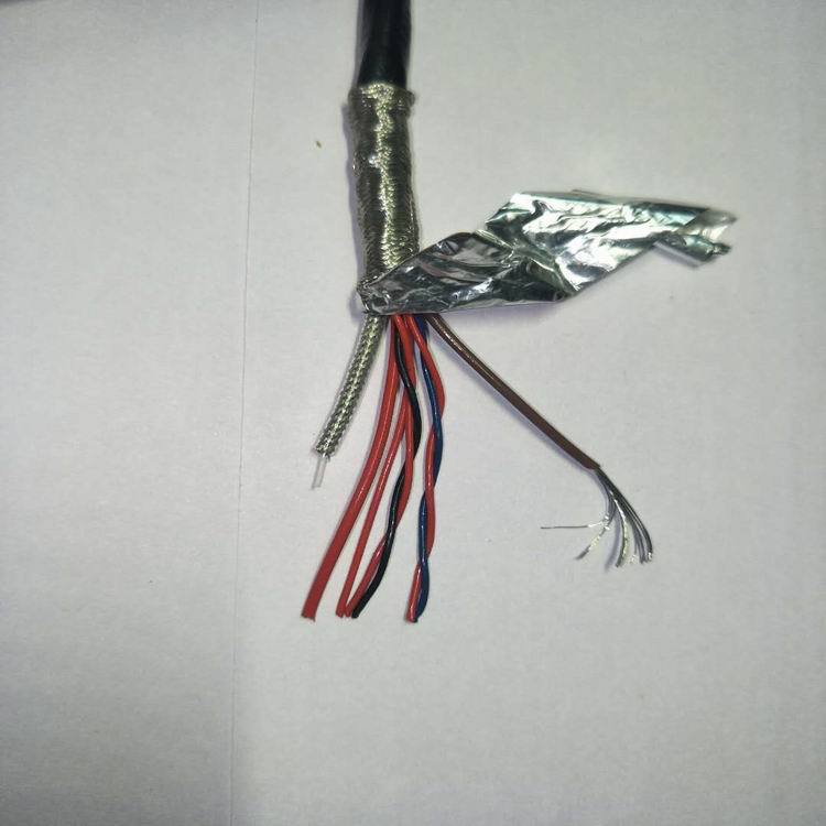 供应TEFP铁氟龙6芯电源高频屏蔽线加镀银铜轴用航空医疗军工