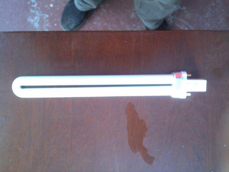 H11W 2针 H形荧光灯管直打弯 三基色 台灯专用