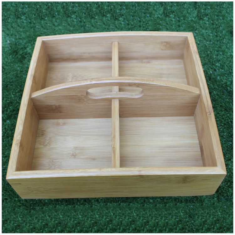 新奇特木制干果托盘糖果盒 木质果盘果篮