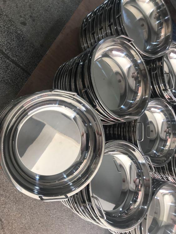 无锡永会 大型火锅连锁店都用的火锅烫锅 304不锈钢材质 防腐蚀性强 现货供应