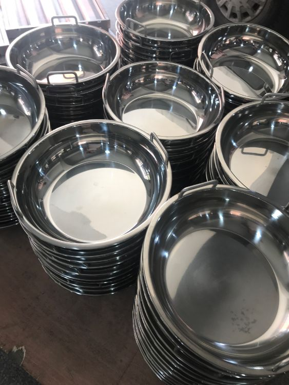 大型火锅连锁店都用的火锅烫锅 304不锈钢 防腐蚀性强 厂家直销
