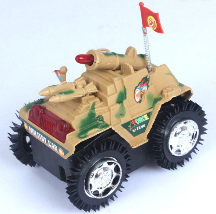 儿童坦克翻斗车夜市货源批发 急速特技电动坦克 电动发光玩具