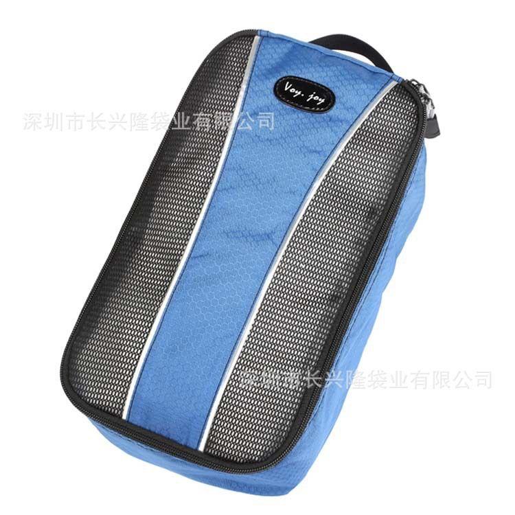 外贸牛津布防尘鞋包手提旅行便携鞋袋收纳包 可印LOGO工厂定做