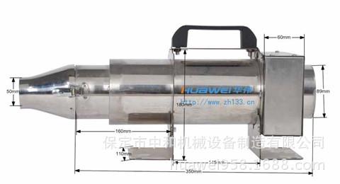 工业热风器  6KW电热风发生器热风发生机 吹热风器HWIR600Q-3