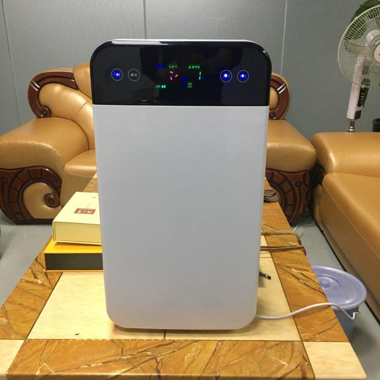 家用空气净化器 负离子活性炭滤网除甲醛异味净化器 换气机