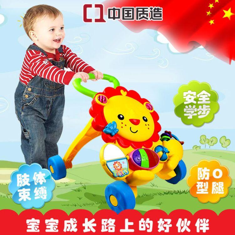 婴幼儿益智学步车 多功能宝宝手推助步车防侧翻儿童玩具