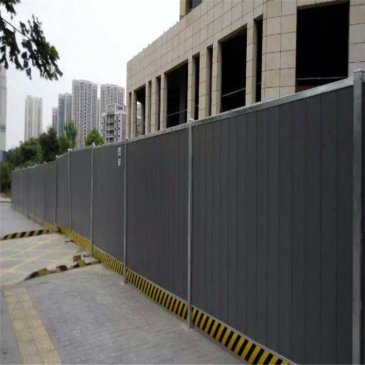 道路施工围挡热销公路养护隔离绿色挡板 PVC施工围挡厂家供应