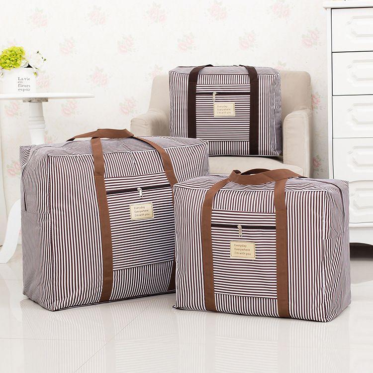 600D加厚牛津布可水洗棉被收纳袋 衣物整理袋 搬家袋行李袋厂家