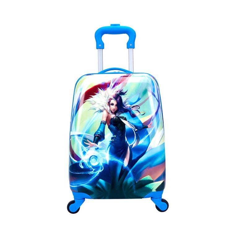 儿童拉杆箱18寸万向轮行李旅行16男女学生小孩宝宝公主卡通拖拉箱