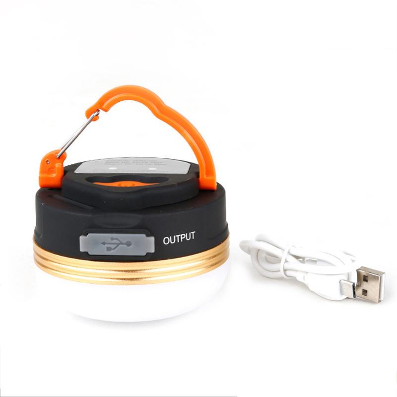 LED超亮多功能野营灯营地灯户外露营可吸附帐篷灯照明USB可充电式