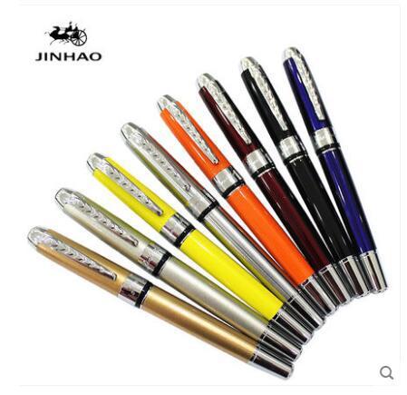 现货供应 金豪250金属钢笔 学生练字硬笔书法美工笔宝珠笔定制