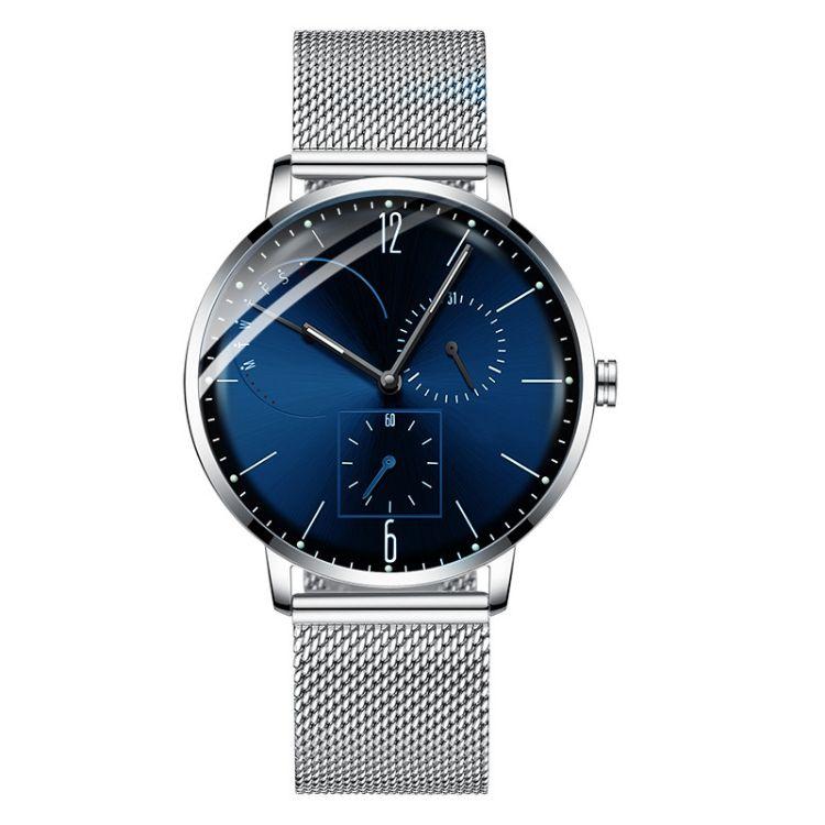 手表工厂支持小批量代加工多功能手表定制OEM现货批发外贸石英表