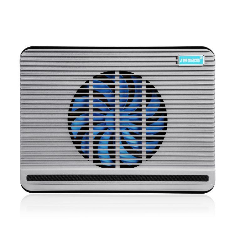 N1笔记本散热器 静音风扇大风量 高度可调节 时尚简约散热垫 底座