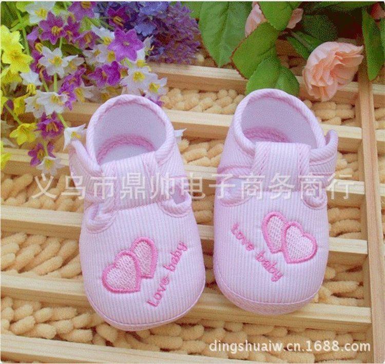【批发】外贸防滑童鞋 可爱婴儿学步鞋 春夏童鞋 点胶婴儿软底鞋