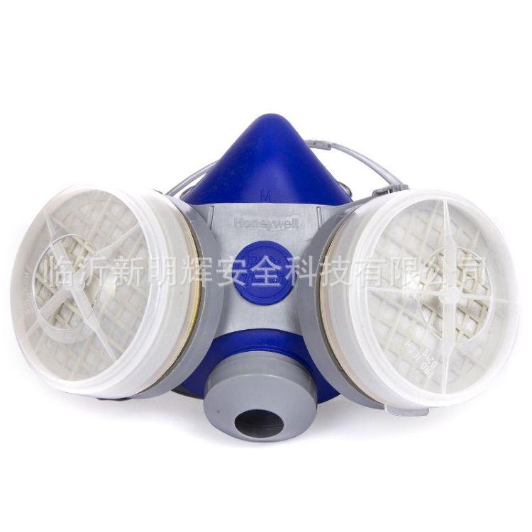 HONEYWELL霍尼韦尔B290防毒口罩双滤盒硅胶防毒半面罩