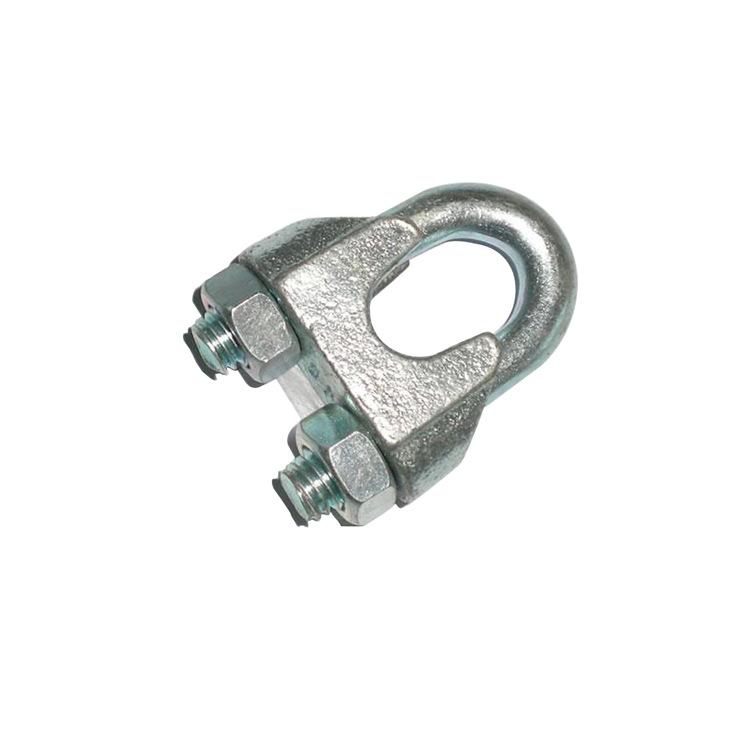 国标钢丝绳卡头 钢丝绳绳扣 钢丝绳锁具 重型钢丝绳卡头