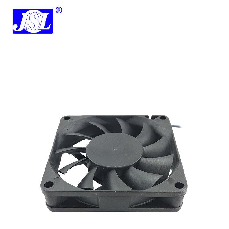厂价直销7015工业显卡风扇含油轴承12V交换机CPU散热风扇