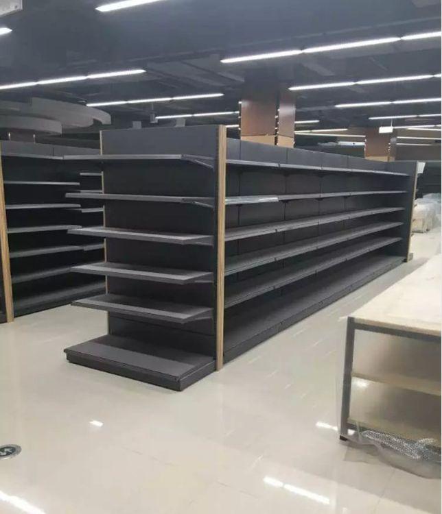 厂家直销超市货架新永冠德国式板层超市货架加工定制批发