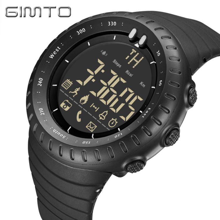 厂家直销 男士登山运动智能手表拍照蓝牙能量记录 信息提醒电子表