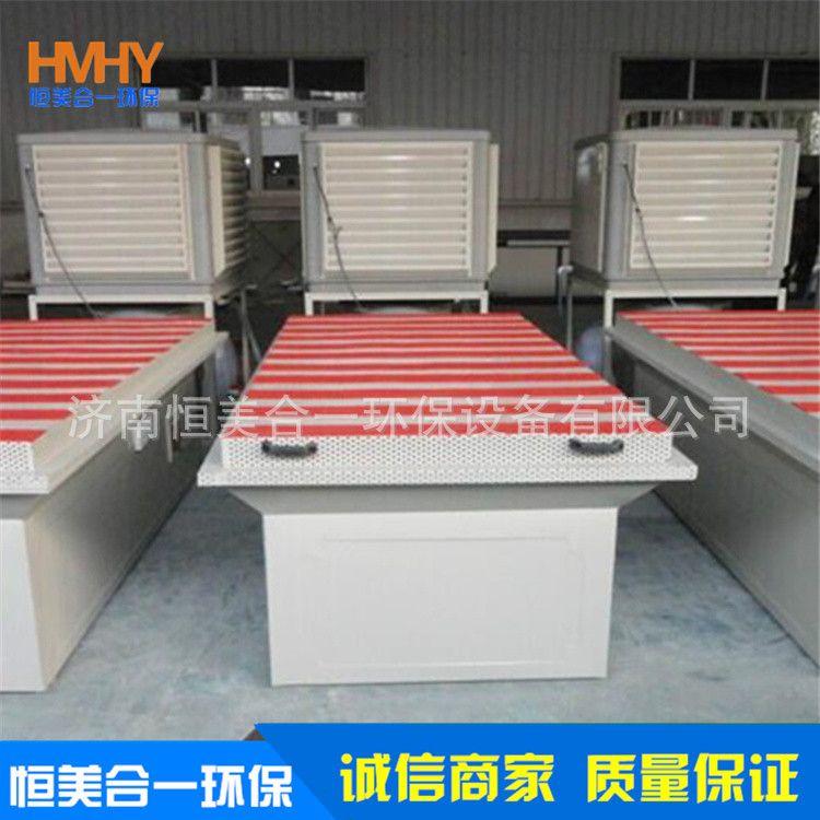 恒美合厂家供应无尘水循环打磨台布袋打磨台 木工机械立体环保型除尘工作台质量可靠