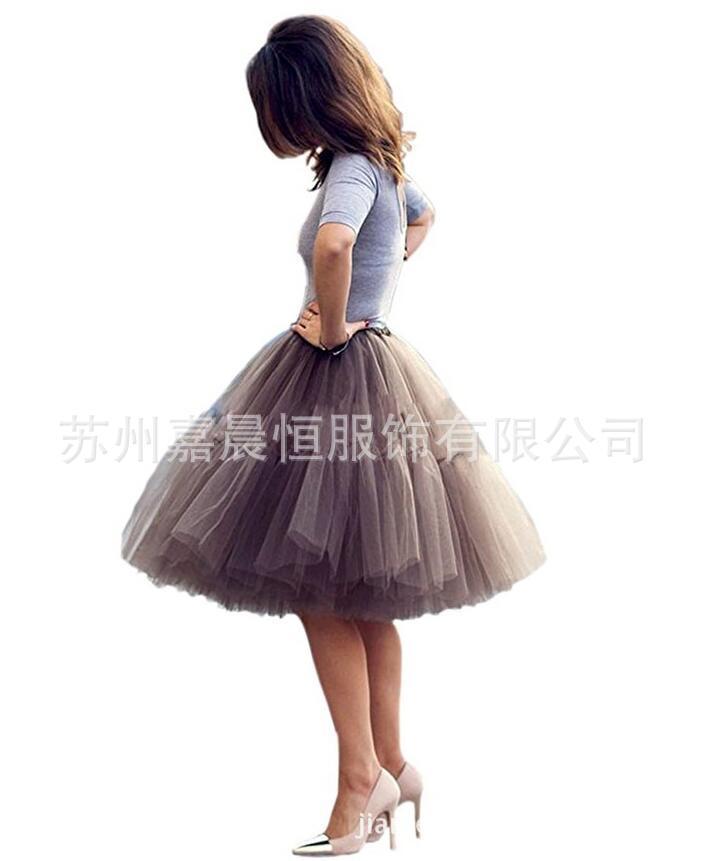 无骨裙撑软纱lolita女仆裙撑 短款半身裙cosplay日常裙撑礼服裙撑