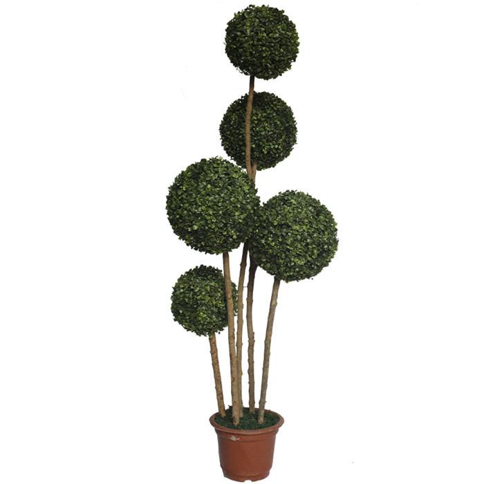 广州仿真米兰草造型树 人造盆栽植物 欧式仿真造型设计绿植
