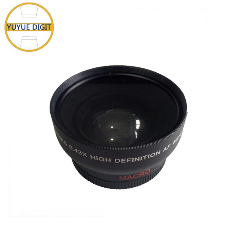 0.43X倍增距附加镜 单反相机增距镜头 相机附加镜 摄影器材配件