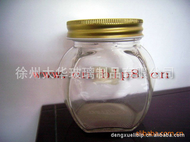 大华 厂家供应各种规格高白料鱼子酱密封玻璃罐