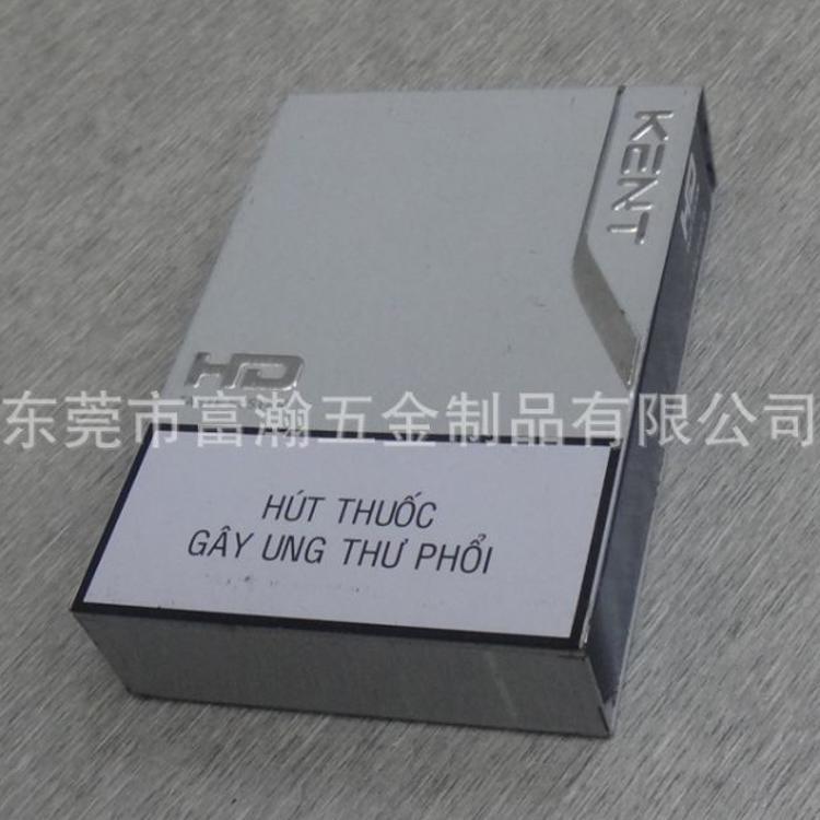 厂家供应热销新款外销马口铁推拉烟盒 香烟铁盒 L88xW60xH18MM