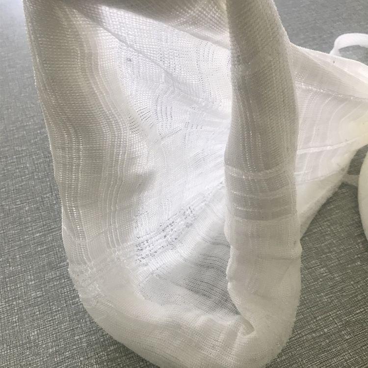 现货批发涤纶网纱袋筒子网袋超级弹性伸缩包装网袋