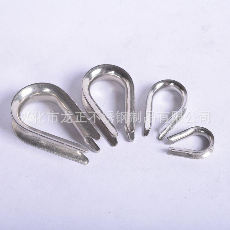 【精品】供应不锈钢套环三角环 不锈钢304 M10套环 鸡心环
