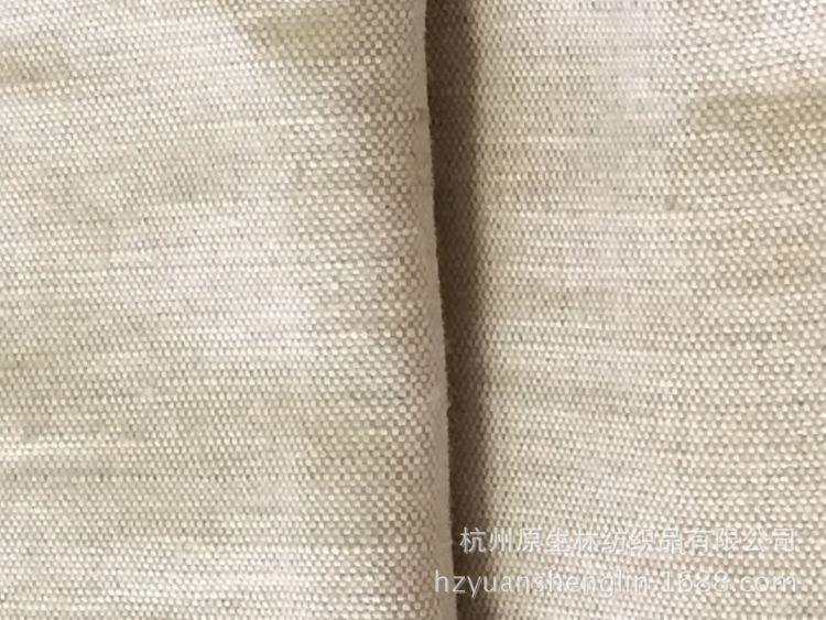 21S鞋材黄麻棉复古圣诞染色印花装卸节日外贸花束纯色婚庆背景布