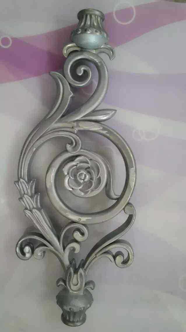 铝艺楼梯扶手加工定制 铝艺楼梯花件 铝艺楼梯装饰配件批发定制