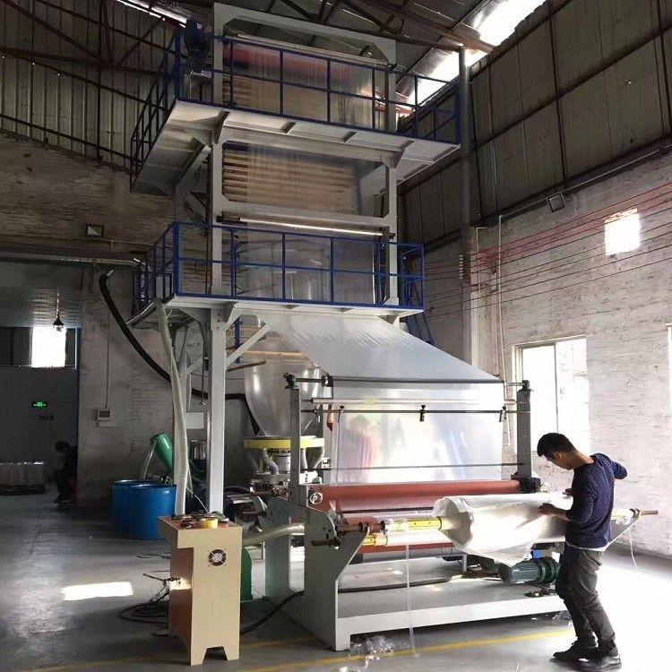 75*1600型 高速单层吹膜机-塑料膜吹膜机-塑料袋吹膜机