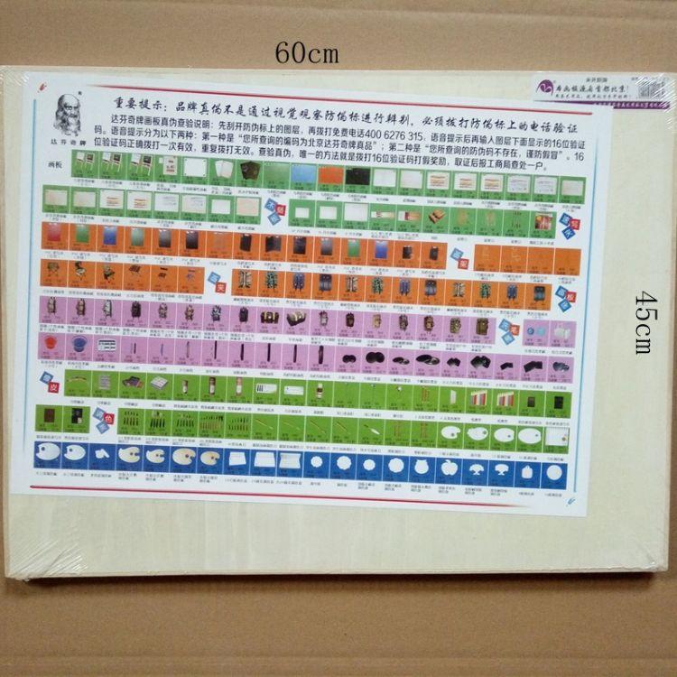 北京达芬奇美术用品 米开朗牌画板 绘图板 2K 4K 厂家直销