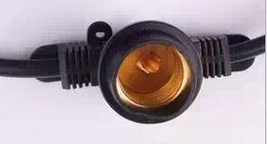 橡胶灯串线电源线 欧式电源照明灯串线 灯串连接线