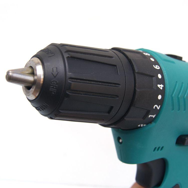 充电式手电钻 12V无刷双速锂电钻 多功能电动螺丝刀批发 电动工具