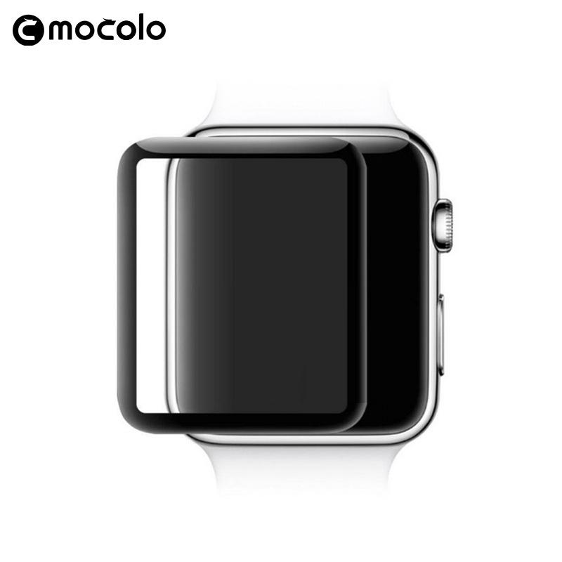 适用 iwatch4手表钢化膜 iwatch 曲面3D全屏覆盖 手表多型号批发