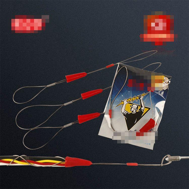 束紧器钢丝穿线器包胶电工管道网线器厂家直销拉线器光纤线
