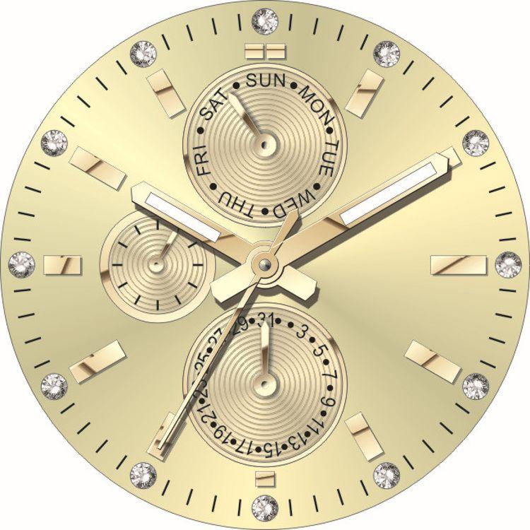 长期供应钟表表面  表盘加工  字盘订做  钟表配件