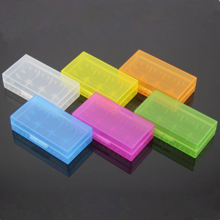 2节装18650锂电池盒 圆柱锂电池盒 CR123A/CR2收纳盒