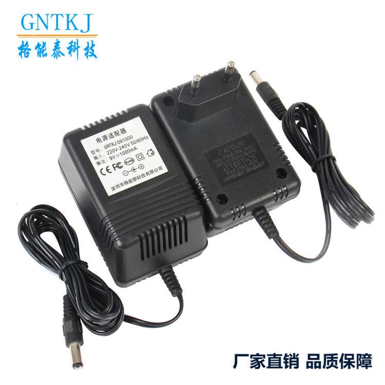 交流线性电源-路由器适配器 AC-AC9V1A欧规插墙式镇流器