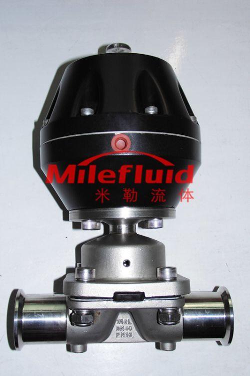 卫生级气动隔膜阀,不锈钢气动隔膜阀生产厂家