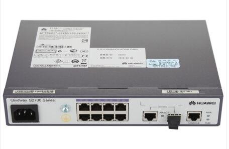 华为(HUAWEI)S2700-9TP-EI-AC 8口百兆网管型交换机