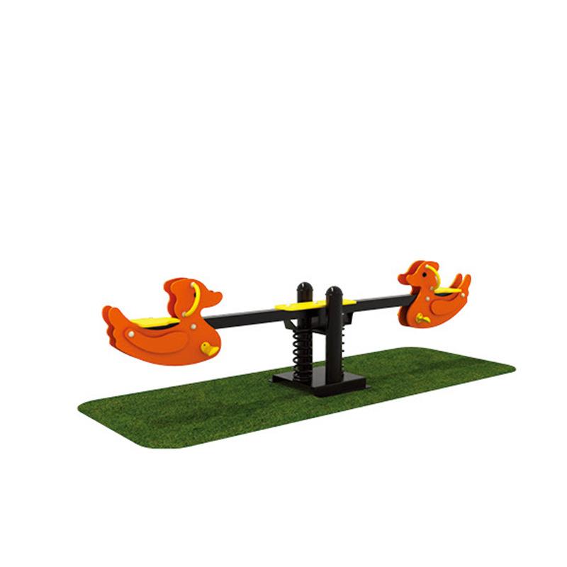 定做儿童摇马跷跷板小区公园弹簧跷跷板幼儿园农庄生态园配套游乐