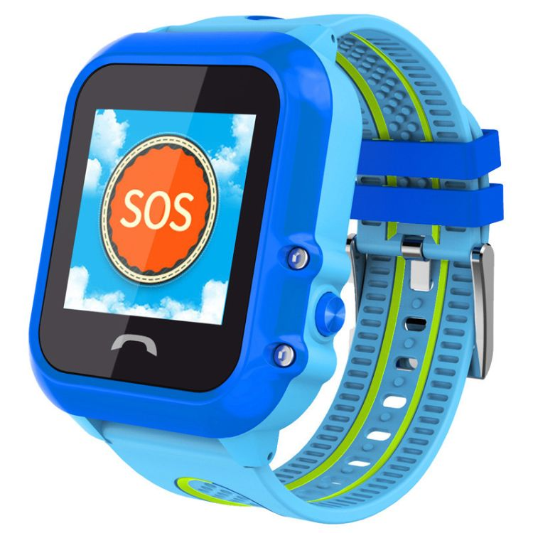 新款DF27儿童智能电话手表 GPS双重定位 防水SOS求救通话智能手表