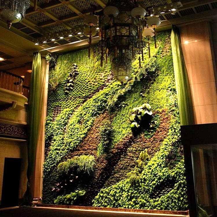 厂家专业设计 墙面垂直绿化 室内室外垂直阳台绿化